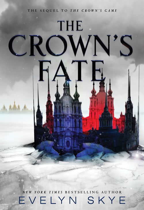 The Crown's Fate by author Evelyn Skye